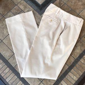 Talbots Light Tan Flat Front Heritage Dress Pants